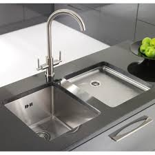 undermount kitchen sink with faucet holes contemporary undermount kitchen sinks home design and decor