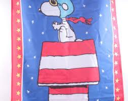 snoopy summer flag etsy