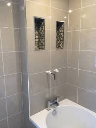 bathroom tile trim ideas idea for inexpensive bathroom trim tile use pieces of mosaic