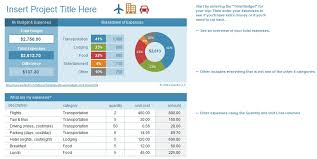 Travel Budget Template Excel 3 Travel Budget Template Word Excel And Pdf Excel Tmp