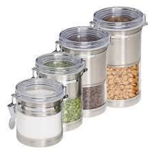 Stainless Steel Canister Sets Kitchen Get The Look Property Brothers Kristen U0026 Ben U0027s Kitchen