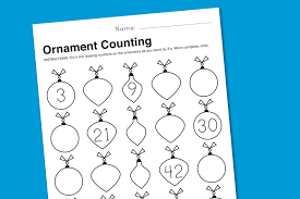 free printable holiday worksheets for math paging supermom