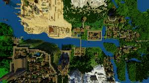 America Minecraft Map by Minecraft U0027 Kingdom Of Galekin Took 5 Years To Make Photos