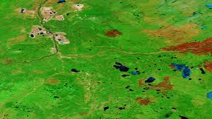 Alberta Wildfire Zones by Satellite Pics Show Fort Mcmurray Under Attack From U0027the Beast U0027