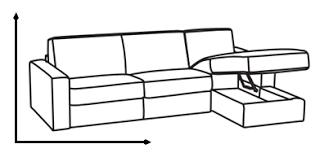 dimensions canapé 3 places places canap 2 3 5 places ooreka dimension canape d angle wiblia com