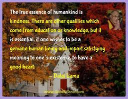 dalai lama inspirational quotes the true essence of humankind is