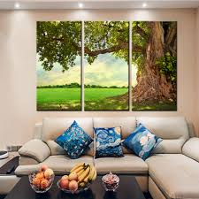 Art Decoration For Home by Online Get Cheap Trees Paint Aliexpress Com Alibaba Group