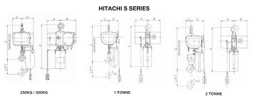 hitachi electric chain hoists u2013 lifting equipment