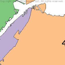 oregon ohio zip code boundary map oh