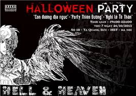 heaven hell halloween party