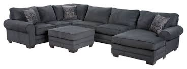 gray sectional with ottoman impressive simple grey sectional couches sofa sofas cocktail ottoman