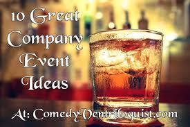 corporate entertainment ideas comedy ventriloquist