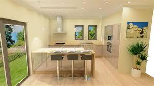 cuisine en bois clair photo de cuisine amenagee 6 cuisine brillante cachemire et bois