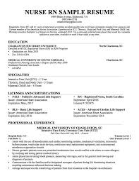 Professional Resume Outline Resume For by Examples Of Nursing Resume Examples Of Registered Nurse Resumes