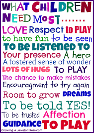 children quotes and sayings what children need most respect to play to to be seen jpg