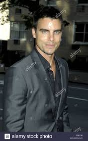 colin eglesfield outside the gramercy park hotel new york city