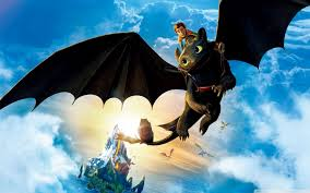 hiccup and toothless hd desktop wallpaper high definition wide 16 10