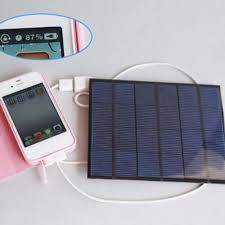 Diy Solar Phone Charger New Usb Solar Panel Power Bank External Battery Charger For Mobile