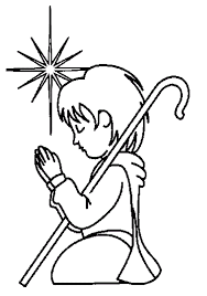 children praying coloring page clip art library