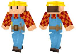 bob builder minecraft skins