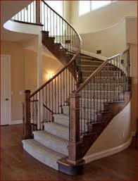 Metal Banister Rail For The Railing Heading Up To The Bedrooms Upstairs Either