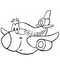 kidscolouringpages orgprint u0026 download cartoon airplane coloring
