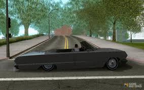 nissan impala chevrolet impala 1964 lowrider for gta san andreas