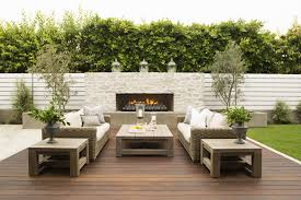 decorations enchanting living space with outdoor accent wall and