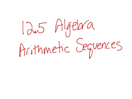 Linear Sequences Worksheet Showme Arithmetic Sequences Linear Functions
