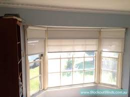 Best Blinds For Bay Windows Dual Roller Blinds For Your Bay Window Blockout Blinds