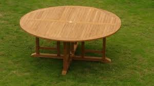 72 round outdoor dining table grade a teak wood 72 round dining table outdoor patio garden ebay