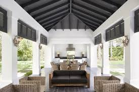 Pool House Cabana by Neoclassical Style Miami Home With Pool Pavilion Idesignarch