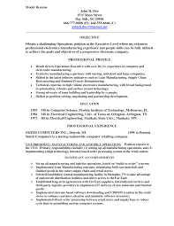 Profile For Resume Examples Sample Resume With Profile Why This Is An Excellent Resume