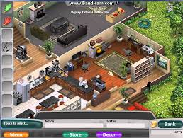Design Your Virtual Dream Home Virtual Families 2 Completed House With Black Family Youtube