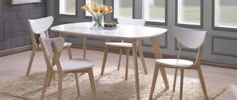 Fascinant Solde Table A Manger Fascinant Table Blanche Et Bois Xtable A Manger Design 150cm Blanc