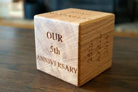 5th wedding anniversary gifts for him 5th wedding anniversary gifts makemesomethingspecial