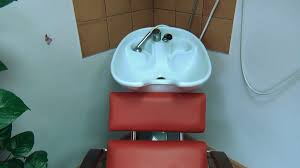 Basin Sink by Chair And Head Hair Wash Basin Sink At Barber Hairdresser Salon
