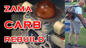 zama carburetor rebuild on homelite bp250 blower youtube