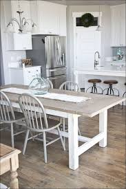 Kitchen  Rustic Dining Room Table Distressed Dining Table - Distressed white kitchen table
