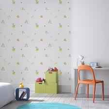 chambre bébé papier peint papier peint chambre enfant leroy merlin