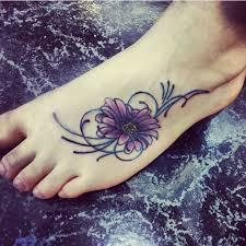 Flower Tattoo Designs On Feet - best 25 daisy tattoo designs ideas on pinterest sunflower