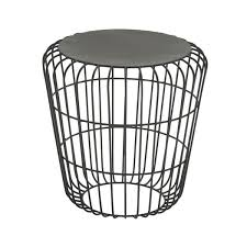 Wire Side Table Black Wire Side Table Free Shipping Today Overstock