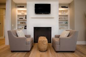 painted brick fireplace white painted fireplace fireplace with