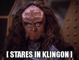 Stare Meme - stares in klingon album on imgur