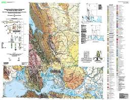 solano county map geologic map and map database of northeastern san francisco bay