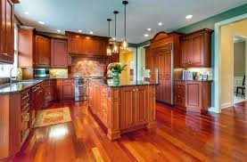 what color kitchen cabinets go with hardwood floors cherry hardwood flooring popular types design ideas