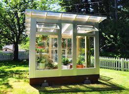 greenhouse garden shed home outdoor decoration