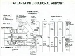 Atlanta Georgia Map Atlanta Georgia Airport Delta Terminal Map My Blog