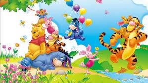 winnie pooh eeyore piglet tigger kanga cartoon pics