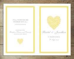 37 best diy wedding programs images on pinterest diy wedding
